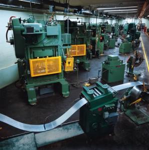 Scrivien Precision Fabricating, Phoenix AZ, Capabilities, Metal Stamping