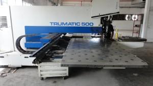Scriven Precision Fabricating, Phoenix AZ, Trumpf 500 CNC